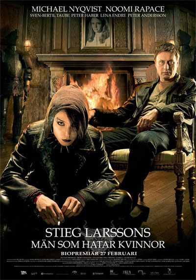 of Stieg Larsson's novel, The Girl With The Dragon Tattoo, has begun.