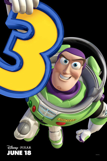 Toy Story 3 Buzz character movie poster