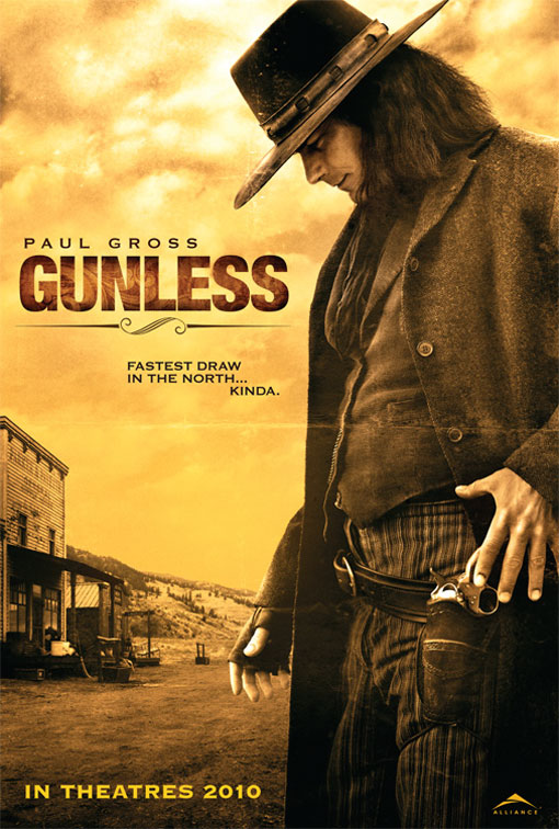 film Gunless streaming