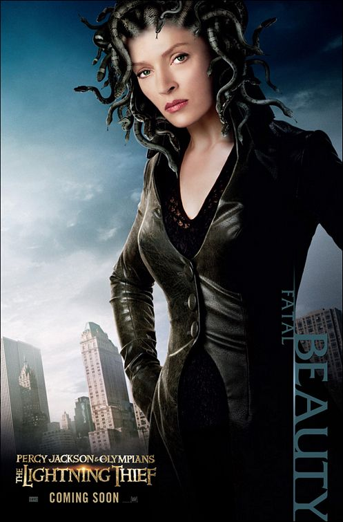 Percy Jackson & The Olympians: The Lightning Thief – Uma Thurman as Medusa