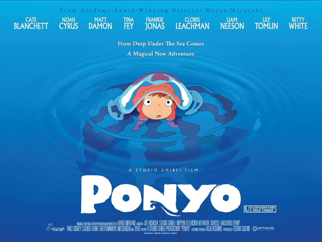 Ponyo: Seashells and Water Colors (Review)