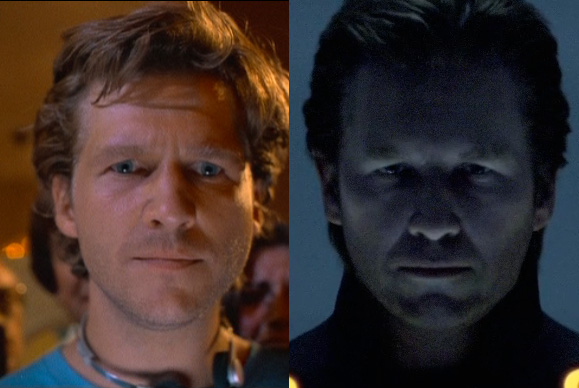 Jeff Bridges Tron Cgi
