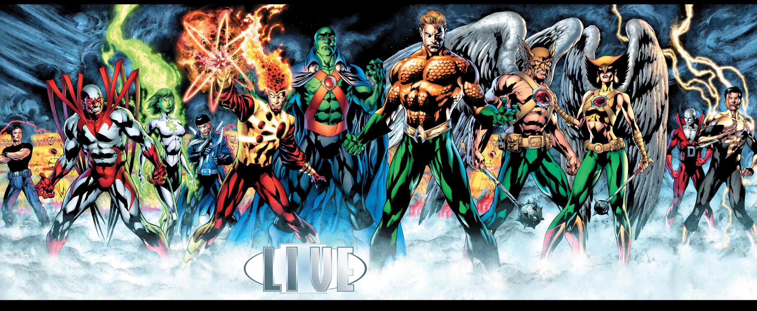 DCu2019s Brightest Day has lots of Heroes returning u00ab Live for ...