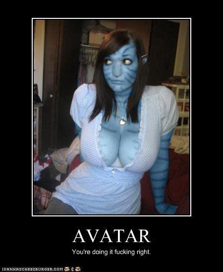 funny avatar. Tagged: Avatar, funny,