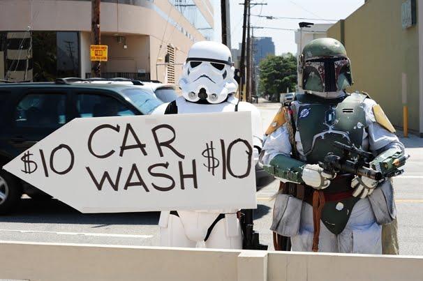 Car wash pleasure