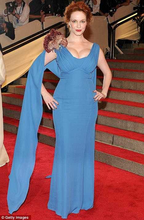 christina hendricks firefly. Christina Hendricks at Met