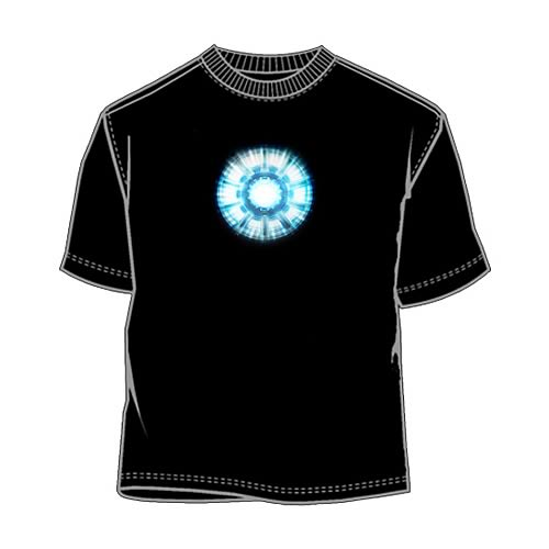 iron man 2 heart core t shirt live for films. Black Bedroom Furniture Sets. Home Design Ideas
